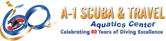A-1 Scuba & Travel Aquatics Center Logo