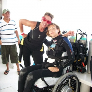 Cozumel Divers With Disabilities 2012