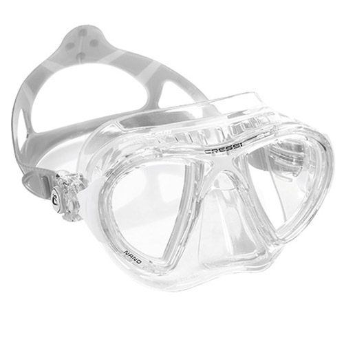 Cressi Nano Mask White/Clear