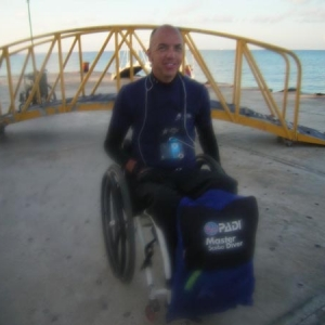 Cozumel Divers With Disabilities 2010