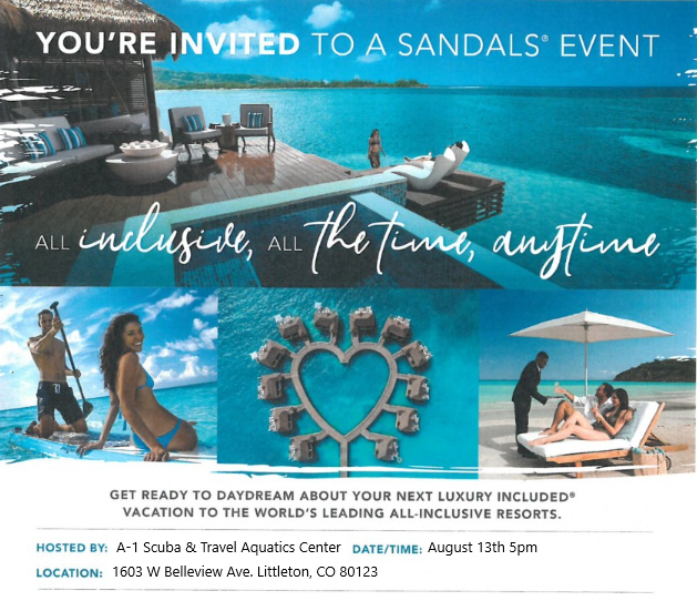 Sandals Special Event