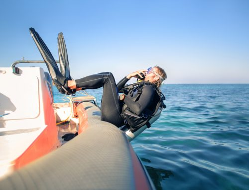 Why Do Scuba Divers Dive Backwards?