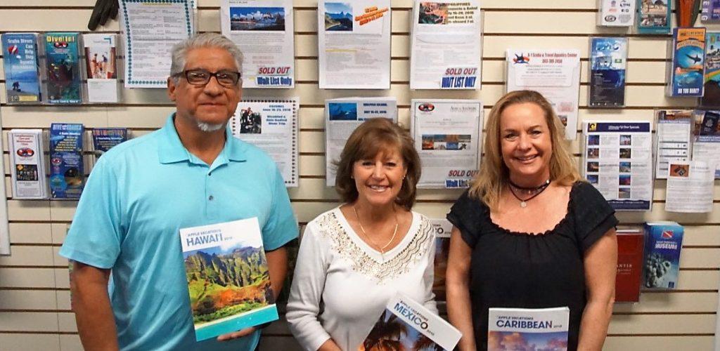 Travel Staff; Keith, Lynn, Katie